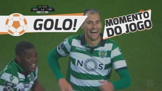 Sporting, Bas Dost aos 17', Sporting 2-0 Feirense