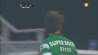 Sporting CP, Jogada, B. Ruiz aos 21'