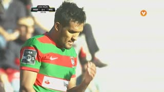 Marítimo M., Jogada, Dyego Sousa aos 31'