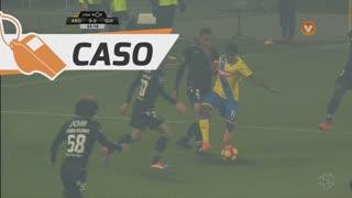 FC Arouca, Caso, Jorginho Intima aos 55'