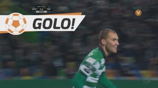 Sporting, Bas Dost aos 5', Sporting 1-0 Feirense