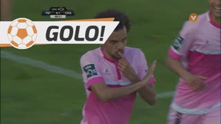 GOLO! GD Chaves, Fábio Martins aos 49', CD Feirense 0-2 GD Chaves