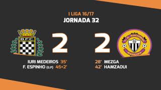 Liga NOS (32ªJ): Resumo Boavista FC 2-2 CD Nacional