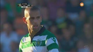 Sporting CP, Jogada, Slimani aos 60'