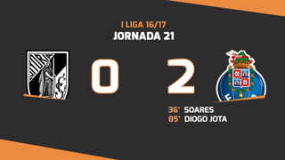 I Liga (21ªJ): Resumo Vitória SC 0-2 FC Porto