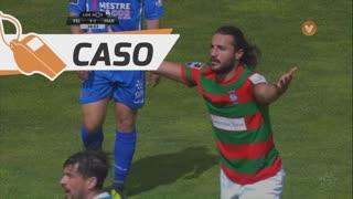 CD Feirense, Caso, O. Etebo aos 29'