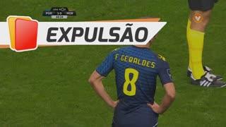Moreirense FC, Expulsão, Chico Geraldes aos 45'