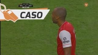 SC Braga, Caso, Wilson Eduardo aos 65'