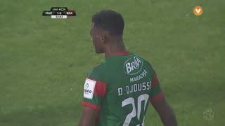 Marítimo M., Jogada, D. Djoussé aos 23'
