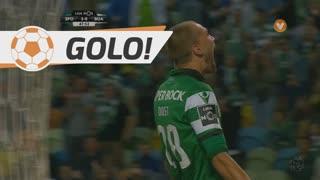 GOLO! Sporting CP, Bas Dost aos 48', Sporting CP 3-0 Boavista FC