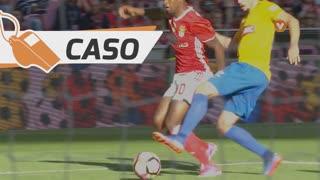 SL Benfica, Caso, Nélson Semedo aos 27'