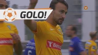 GOLO! Estoril Praia, André Claro aos 6', Estoril Praia 1-1 FC Arouca