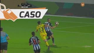 FC P.Ferreira, Caso, B. Osei aos 28'
