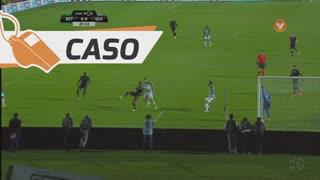 Vitória FC, Caso, Fábio Pacheco aos 40'