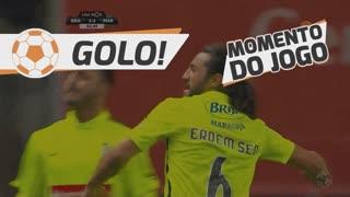 GOLO! Marítimo M., E. Şen aos 83', SC Braga 3-3 Marítimo M.