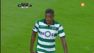 Sporting CP, Jogada, William aos 36'