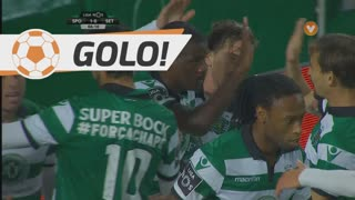 Sporting, William aos 6', Sporting 1-0 V. Setúbal