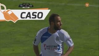 CD Tondela, Caso, Hélder Tavares aos 48'