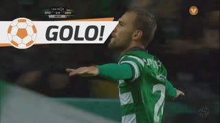 GOLO! Sporting CP, Bas Dost aos 68', Sporting CP 3-0 FC Arouca