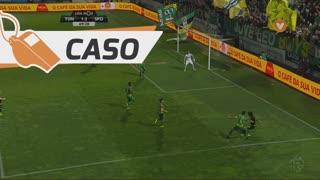 Sporting CP, Caso, Gelson Martins aos 69'