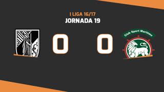 I Liga (19ªJ): Resumo Vitória SC 0-0 Marítimo M.