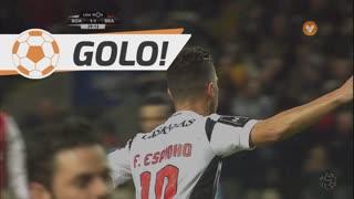 GOLO! Boavista FC, Fábio Espinho aos 39', Boavista FC 1-1 SC Braga