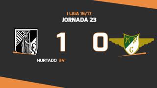 I Liga (23ªJ): Resumo Vitória SC 1-0 Moreirense FC