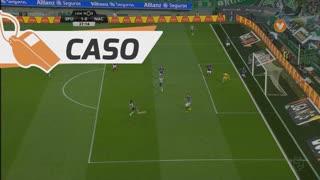 Sporting CP, Caso, Bas Dost aos 25'