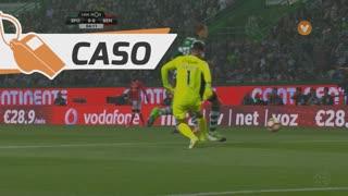 Sporting CP, Caso, Bas Dost aos 3'
