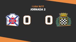 I Liga (2ªJ): Resumo Belenenses 0-0 Boavista FC