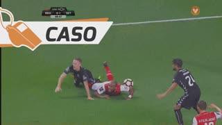 SC Braga, Caso, Wilson Eduardo aos 49'