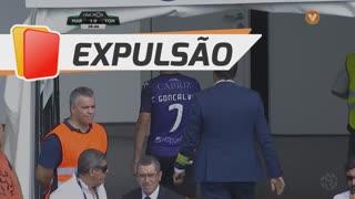 CD Tondela, Expulsão, C. Gonçalves aos 38'