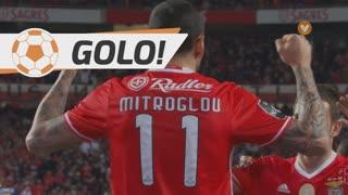 GOLO! SL Benfica, K. Mitroglou aos 17', SL Benfica 1-0 GD Chaves