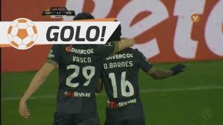 GOLO! FC P.Ferreira, B. Osei aos 30', Estoril Praia 1-1 FC P.Ferreira