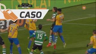 Sporting CP, Caso, E. Schelotto aos 20'