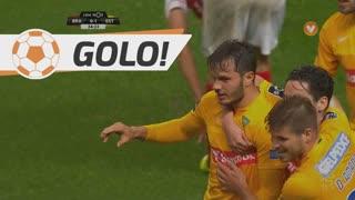 GOLO! Estoril Praia, Kléber aos 35', SC Braga 0-1 Estoril Praia