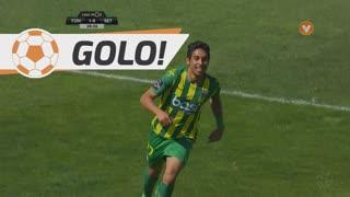 GOLO! CD Tondela, Murilo aos 28', CD Tondela 1-0 Vitória FC
