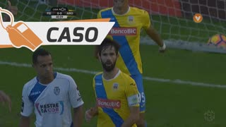 FC Arouca, Caso, Nuno Coelho aos 40'