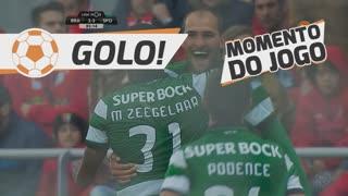 GOLO! Sporting CP, Bas Dost aos 84', SC Braga 2-3 Sporting CP