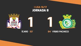 Liga NOS (8ªJ): Resumo CD Feirense 1-1 Vitória FC