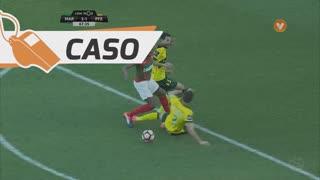 Marítimo M., Caso, Dyego Sousa aos 67'
