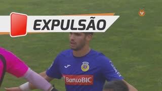 FC Arouca, Expulsão, Hugo Basto aos 40'