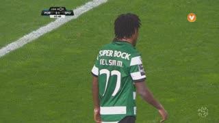 Sporting CP, Jogada, Gelson Martins aos 66'