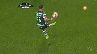 Sporting CP, Jogada, Daniel Podence aos 90'