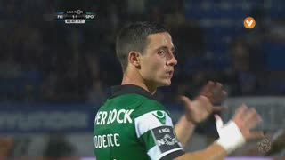 Sporting CP, Jogada, Daniel Podence aos 45'+1'