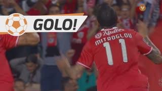 GOLO! SL Benfica, K. Mitroglou aos 27', SL Benfica 1-0 SC Braga