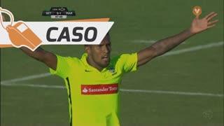Marítimo M., Caso, Dyego Sousa aos 88'