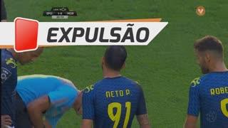 Moreirense FC, Expulsão, Neto aos 34'