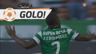 GOLO! Sporting CP, Joel Campbell aos 52', Sporting CP 2-0 Moreirense FC