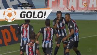 GOLO! CD Nacional, N. Bonilla aos 7', Os Belenenses 0-1 CD Nacional